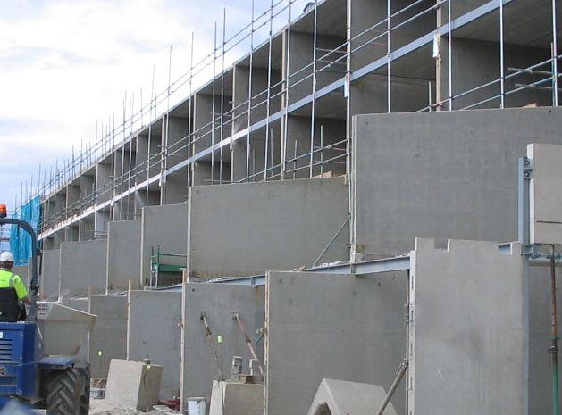 Rcc Wall Construction : الحوائط الأسمنتية المعزولة شركة مودة للحلول الإنشائية